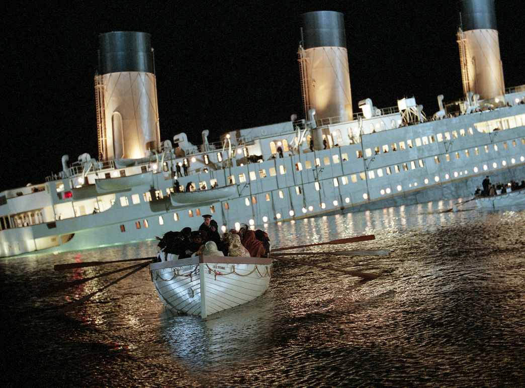 Titanic 3d movie